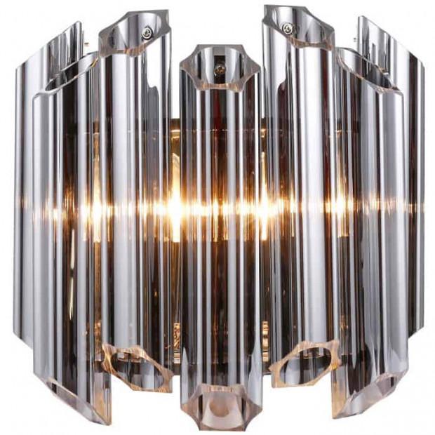 Lampadaire argenté design en acier  L. 33 x P. 16 x H. 32 cm collection Feline Richmond Interiors
