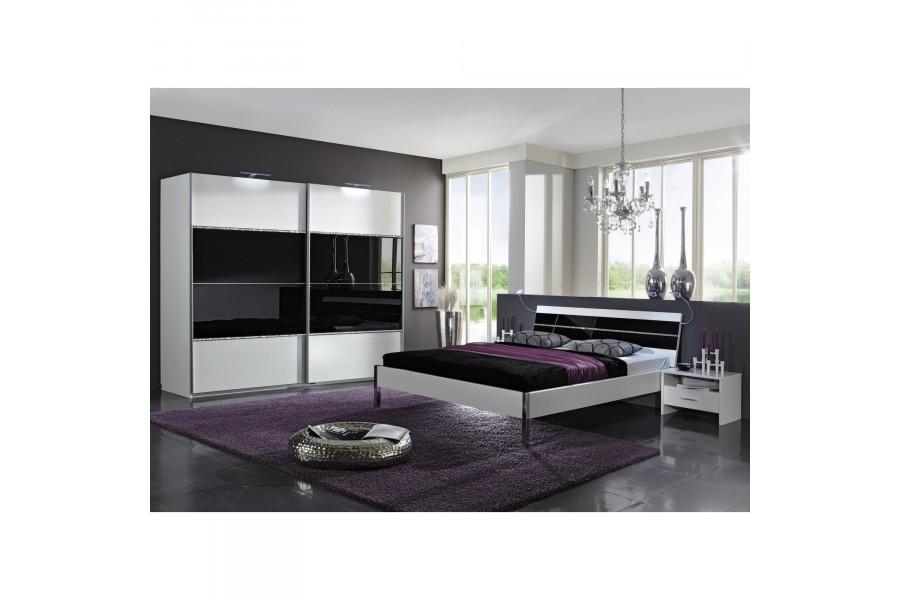 Chambre adulte complète blanc design collection Cefnypant