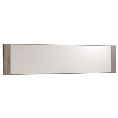Miroir de salle à manger contemporain marron L. 148 x P. 2 x H. 33 cm Collection Grade