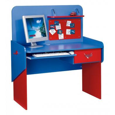 Bureau enfant rouge design en 63 cm de largeur collection Guimaraes