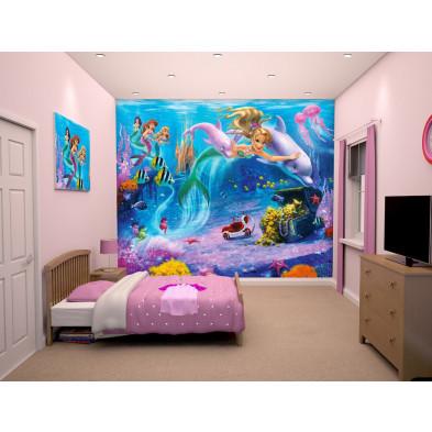 Poster Mural Mermaids 245 x 300 cm en papier collection Innerkip