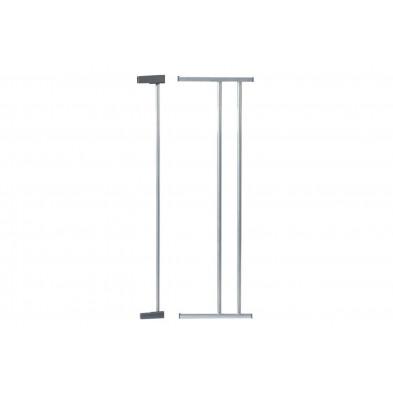 Extension de barrière design gris en acier L. 18 x H. 75 cm collection Isabell