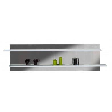 Miroir de salle à manger blanc design L. 197 x P. 17 x H. 52 cm collection Gamizfika