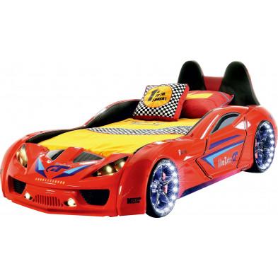 Lit voiture rouge design en collection Guimaraes