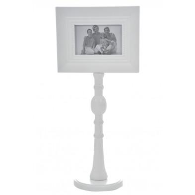 Cadre photos blanc en bois massif collection Barrett