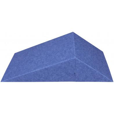 Toiles et tableaux bleu design en polyester L. 60.5 x P. 15 x H. 30.5 cm collection Magherno