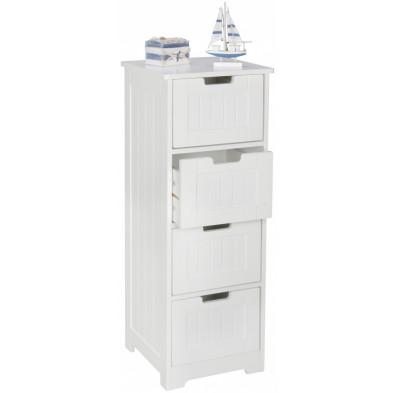 Armoires & placards blanc design en bois mdf L. 30 x P. 30 x H. 83 cm collection Lunteren