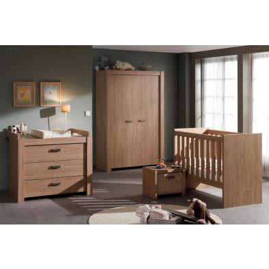 Chambre bébé complète marron contemporain en collection Cattle