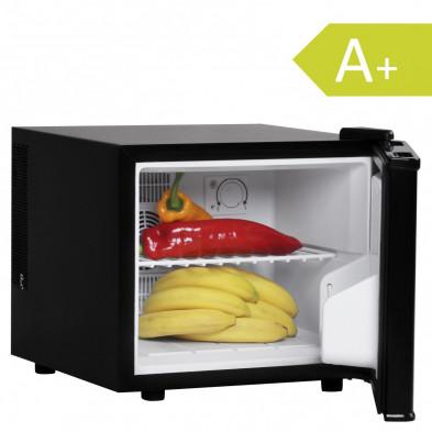 Mini-réfrigérateur noir design L. 39 x P. 42 x H. 34 cmcollection Darith