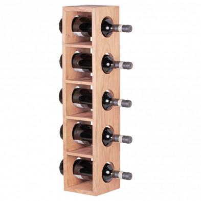 Autres objets déco marron contemporain en bois massif L. 15 x P. 15 x H. 70 cm collection Army