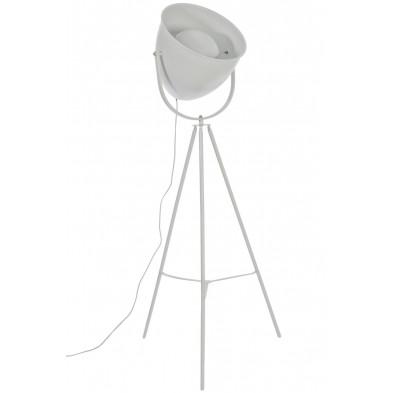 Lampadaire blanc 60 x 170 cm en collection Rens