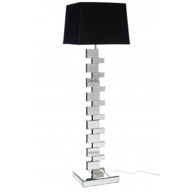 Lampadaire noir design 26 x 142 cm en collection Liton