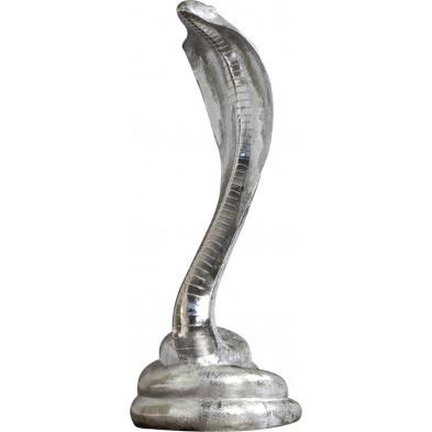 Déco design Serpent métallique L. 30 x P. 35 x H. 80 cm  collection Tray
