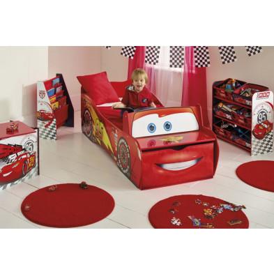"""Composition chambre enfant  sur le thème """"Cars"""" coloris rouge collection Guimaraes"""