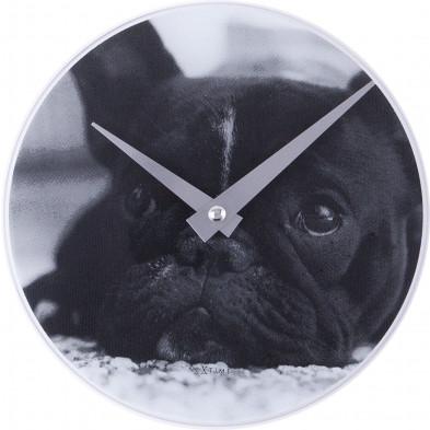 Horloge à poser noir en collection Achtan
