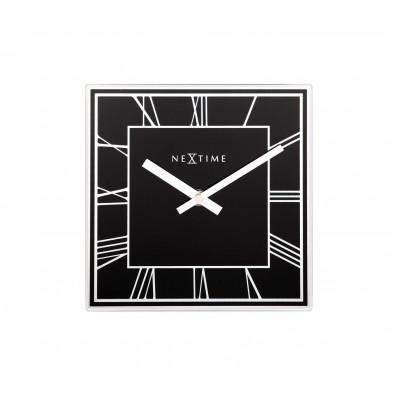 Horloge à poser noir moderne en collection Diemelstadt