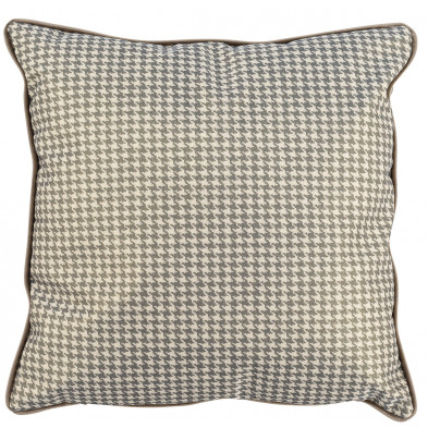 Coussin et oreiller taupe design en polyester, L. 45 x P. 45 cm  collection Juno Richmond Interiors Richmond Interiors