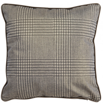 Coussin et oreiller taupe design en polyester, L. 45 x P. 45 cm  collection  Jade Richmond Interiors Richmond Interiors