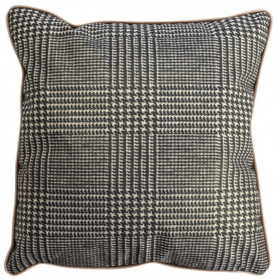 Coussin et oreiller taupe design en polyester, L. 45 x P. 45 cm  collection Jaell Richmond Interiors Richmond Interiors