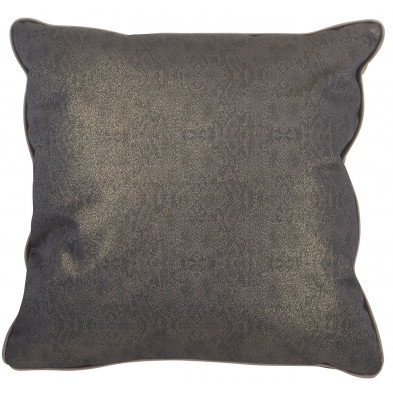 Coussin et oreiller taupe design en polyester, L. 45 x P. 45 cm  collection Jaxi Richmond Interiors Richmond Interiors