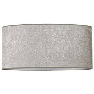 Abat-jour argenté design en polyester, L. 58 x P. 58 x H. 27 cm  collection Marly Richmond Interiors Richmond Interiors