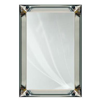 Miroir argenté design en miroir et verre, L. 48 x P. 2.5 x H. 109.5 cm  collection Lewis Richmond Interiors Richmond Interiors
