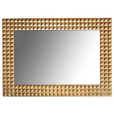 Miroir or design en laiton chromé et miroir, L. 51 x P. 5 x H. 71 cm  collection Casteror Richmond Interiors Richmond Interiors