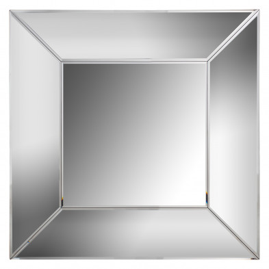 Miroir argenté design en bois mdf et miroir, L. 95 x P. 5 x H. 95 cm collection Benton Richmond Interiors Richmond Interiors
