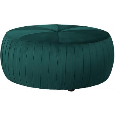 Repose-pieds & poufs vert design en polyester  L. 83 x P. 83 x H. 36 cm collection Joya Richmond Interiors