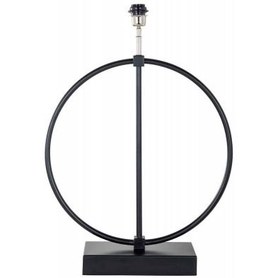 Lampe à poser noir design en acierL. 51 x P. 10 x H. 69 cm  collection Byron Richmond Interiors