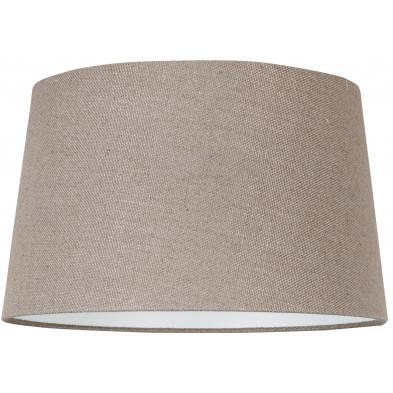 Abat-jour beige moderne en coton L. 35 x P. 24 x H. 40 cm  collection Ariana Richmond Interiors