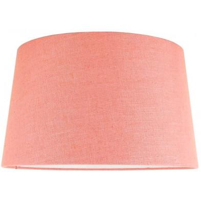Abat-jour rose moderne en coton L. 40 x P. 27 x H. 45 cm collection Solange Richmond Interiors
