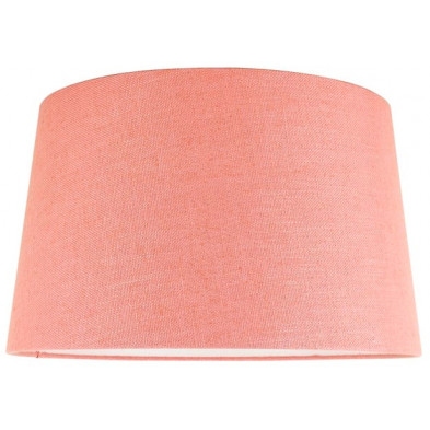 Abat-jour rose moderne en coton  L. 35 x P. 24 x H. 40 cm  collection Solange Richmond Interiors