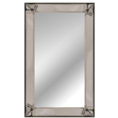 Miroir mural argenté design  L. 110 x P. 4.5 x H. 80 cm collection Luco Richmond Interiors