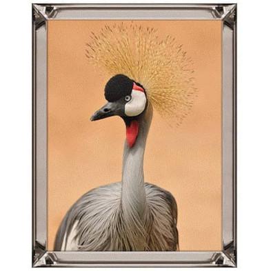 Tableau décoratif  argenté design en miroir L. 80 x P. 5 x H. 60 cm  collection Skye Richmond Interiors