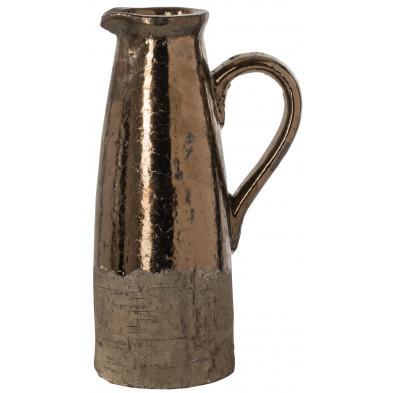 Vase or design en céramique   L. 11.5 x P. 17 x H. 28 cm collection Tyler Richmond Interiors