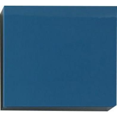 Meuble suspendu Cube design bleu en panneaux de particules mélaminés de haute qualité L. 57 x P. 31 x H. 51 cm  Collection Mollie