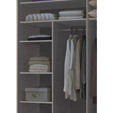 Élément de rangement pour armoire adulte en Panneaux de particules de haute qualité L. 110 x P. 50 x H. 150 cm  collection