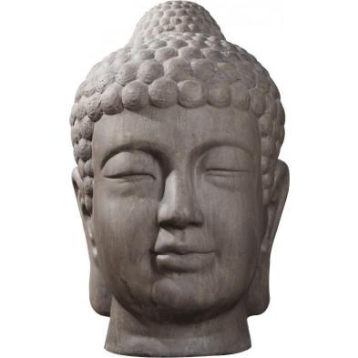 Figurine bouddha 50 x70 cm brun antique collection Iphofen