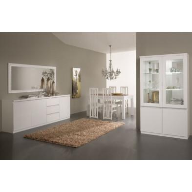 Salle à manger complète blanc design collection Mailbox