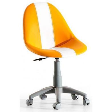 Chaise enfant Orange Design en 169 cm de largeur collection Luneburg