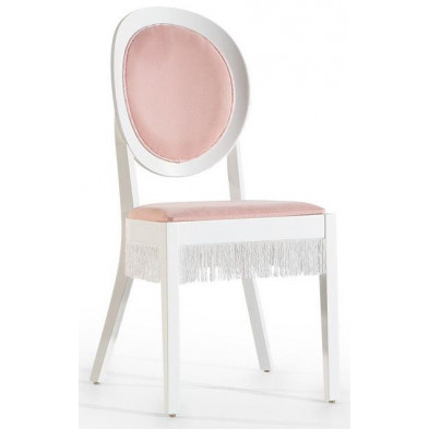 Chaise enfant Rose Classique en Bois mdf 45 cm de largeur collection Zen