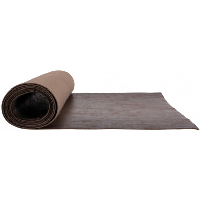 Nappe de table design marron en polyester L. 50 x P. 45 x H. 0.2 cm Collection Robison