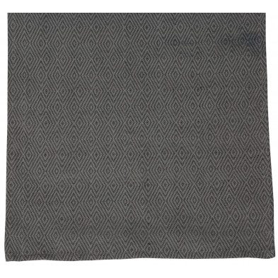 Nappe de table design gris en coton et polyester L. 150 x P. 45 x H. 0.01 cm Collection Cuddington