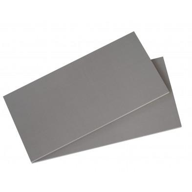 Accessoires gris contemporain en panneaux de particules de haute qualité L. 43 x H. 2 cm collection Morabito