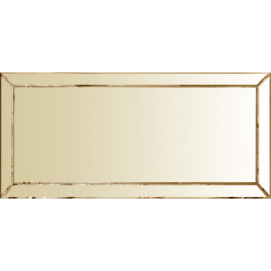 Miroir pour bahut design bronze  fumé 176.5 x 5 x 71.5cm collection Monaco