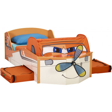 Lit voiture 70x140 cm orange design collection Sijtsma