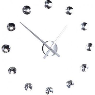 Magnifique horloge murale en cristaux brillants collection Flierman