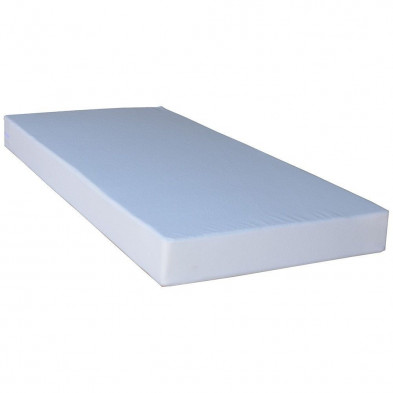 Matelas blanc contemporain en polyester 90 x 190 cm collection Zevekote