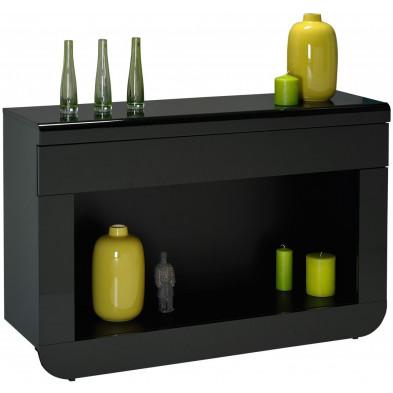 Consoles noir design L. 120 x P. 36 x H. 81 cm collection Schimmel